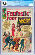 Silver Age (1956-1969):Superhero, Fantastic Four #19 (Marvel, 1963) CGC NM+ 9.6 White pages....