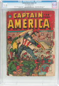 Golden Age (1938-1955):Superhero, Captain America Comics #nn 132-Page Canadian Issue (Timely, 1942) CGC FR 1.0 Cream to off-white pages....