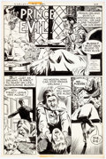 Original Comic Art:Complete Story, Al McWilliams Red Circle Sorcery #10 Complete 2-Page StoryOriginal Art (Archie Comics, 1974).... (Total: 2 Original Art)