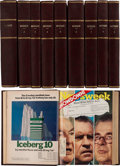 Movie/TV Memorabilia:Documents, An Ernest Borgnine Collection of Bound 'Time' and 'Newsweek' Magazines Related to Watergate, 1972-1973....