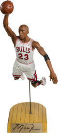 Basketball Collectibles:Others, 1994 Upper Deck Authenticated Michael Jordan Salvino Statue....
