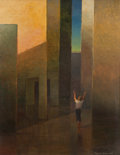Paintings, Claudio Bravo (1936-2011). New York, 1953. Oil on plywood. 16-1/8 x 12-7/8 inches (41 x 33 cm). Signed and dated lower r...