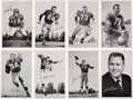 Football Cards:Sets, Rare 1959 San Francisco 49ers Team Issue Complete Set (47). ...