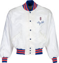 Baseball Collectibles:Uniforms, 2000's Gary Carter New York Mets Jacket from The Gary Carter Collection....