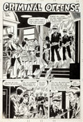 Original Comic Art:Splash Pages, Wayne Howard Midnight Tales #14 Splash Page 23 Original Art(Charlton, 1975)....