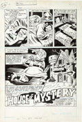 Original Comic Art:Splash Pages, Ric Estrada and Wayne Howard House of Mystery #257 SplashPage 1 Original Art (DC Comics, 1978)....