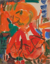 Hans Hofmann (1880-1966) The Artist 7, 1946 Oil on canvas 18 x 14 inches (45.7 x 35.6 cm)