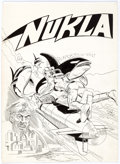 Original Comic Art:Covers, Dick Giordano and Sal Trapani Nukla #3 Unused Cover OriginalArt (Dell, 1966)....