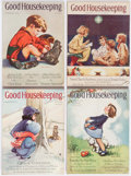 Magazines:Vintage, Good Housekeeping - Disney Group of 7 (Hearst, 1935-36) Condition: Average FN.... (Total: 7 Comic Books)