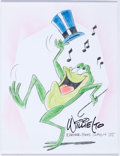 Animation Art:Production Drawing, Willie Ito Michigan J. Frog Illustration Original Art (ca.1980s)....