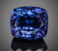 Gems:Faceted, Gemstone: Tanzanite - 29.35 Ct.. Tanzania. ...