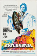 "Movie Posters:Action, Evel Knievel (Fanfare, 1971). One Sheet (27"" X 41""). Action.. ..."