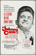 "Movie Posters:Documentary, Johnny Cash! The Man, His World, His Music (Continental, 1969). One Sheet (27"" X 41"") & Window Card (14"" X 22""). Documentary... (Total: 2 Items)"