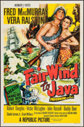 """Movie Posters:Adventure, Fair Wind to Java and Other Lot (Republic, 1953). One Sheets (2)(27"""" X 41""""). Adventure.. ... (Total: 2 Items)"""