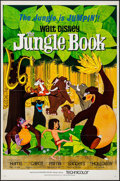 "Movie Posters:Animation, The Jungle Book (Buena Vista, 1967). One Sheet (27"" X 41"") FlatFolded. Animation.. ..."