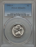 Jefferson Nickels, 1941-S 5C MS66 Full Steps PCGS. PCGS Population: (78/8). NGC Census: (11/3). ...