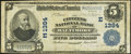National Bank Notes:Maryland, Baltimore, MD - $5 1902 Plain Back Fr. 598 The Citizens NB Ch. # (E)1384. ...