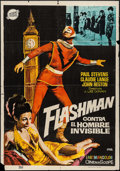 "Movie Posters:Foreign, Flashman (Sanchez Ramade, 1968). Spanish One Sheet (27.5"" X 39.5""). Foreign.. ..."