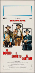 """Movie Posters:Western, The Good, the Bad and the Ugly (Titanus, R-1970s). Italian Locandina (13"""" X 27.5""""). Western.. ..."""