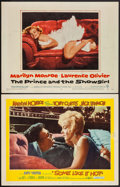 """Movie Posters:Comedy, Some Like It Hot & Other Lot (United Artists, 1959). LobbyCards (2) (11"""" X 14""""). Comedy.. ... (Total: 2 Items)"""