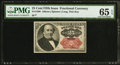 Fractional Currency:Fifth Issue, Fr. 1308 25¢ Fifth Issue PMG Gem Uncirculated 65 EPQ.. ...