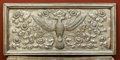 Decorative Arts, Continental:Other , A Continental Wood and Silver-Plated Panel, early 20th century. 17h x 37-1/4 w x 1-3/8 d inches (43.2 x 94.6 x 3.5 cm). ...