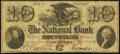 Obsoletes By State:Rhode Island, Providence, RI- National Bank Counterfeit $10 Jan. 1, 1861. ...