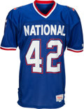 Football Collectibles:Uniforms, 1990 Ronnie Lott Game Worn Pro Bowl Jersey, MEARS A10....