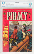 Golden Age (1938-1955):Adventure, Piracy #4 Gaines File pedigree (EC, 1955) CBCS NM/MT 9.8 White pages....