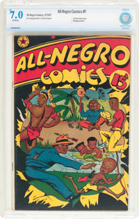 All-Negro Comics #1 (All-Negro Comics, 1947) CBCS FN/VF 7.0 Off-white pages