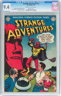 Golden Age (1938-1955):Science Fiction, Strange Adventures #16 (DC, 1952) CGC NM 9.4 Off-white to whitepages....