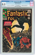 Silver Age (1956-1969):Superhero, Fantastic Four #52 (Marvel, 1966) CGC VF+ 8.5 Off-white to white pages....