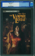 Modern Age (1980-Present):Horror, The Vampire Lestat #5 (Innovation Publishing, 1990) CGC NM+ 9.6White pages.