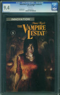 Modern Age (1980-Present):Horror, The Vampire Lestat #5 (Innovation Publishing, 1990) CGC NM 9.4White pages.