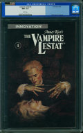 Modern Age (1980-Present):Horror, The Vampire Lestat #4 - CVA Exceptional (Innovation Publishing,1990) CGC NM+ 9.6 White pages.