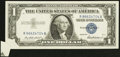 Error Notes:Attached Tabs, Fr. 1619 $1 1957 Silver Certificate. Very Fine-Extremely Fine.. ...