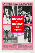"Movie Posters:Sports, Rocky/Rocky II Combo (United Artists, R-1980). One Sheet (27"" X 41"") Red Style. Sports.. ..."