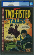 Golden Age (1938-1955):War, Two-Fisted Tales #21 (EC, 1951) CGC VF+ 8.5 Cream to off-white pages.