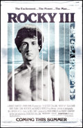 "Movie Posters:Sports, Rocky III (United Artists, 1982). Mylar One Sheet (26"" X 40"") Advance. Sports.. ..."