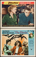 "Movie Posters:Hitchcock, The Birds & Other Lot (Universal, 1963). Lobby Cards (2) (11"" X 14""). Hitchcock.. ... (Total: 2 Items)"