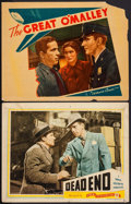 "Movie Posters:Crime, Dead End & Other Lot (Film Classics Inc., R-1944). Lobby Cards(2) (11"" X 14""). Crime.. ... (Total: 2 Items)"