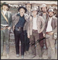 """Movie Posters:Western, Butch Cassidy and the Sundance Kid (20th Century Fox, 1969). Autographed Trimmed Deluxe Lobby Card (10.25"""" X 10""""). Western...."""