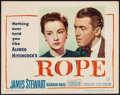"Movie Posters:Hitchcock, Rope (Warner Brothers, 1948). Lobby Card (11"" X 14""). Hitchcock.. ..."