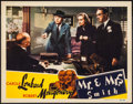 "Movie Posters:Hitchcock, Mr. & Mrs. Smith (RKO, 1941). Lobby Card (11"" X 14""). Hitchcock.. ..."