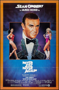 """Never Say Never Again (Warner Brothers, 1983). One Sheet (27"""" X 41""""). James Bond"""