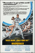 "Movie Posters:James Bond, Moonraker (United Artists, 1979). One Sheet (27"" X 41"") ReviewStyle. James Bond.. ..."
