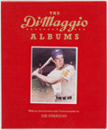 Baseball Collectibles:Publications, 1989 Joe DiMaggio Signed Hardcover Book....
