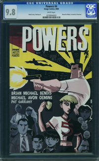 Powers #4 (Image-Wizard Publications, 2000) CGC NM/MT 9.8 White pages