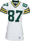 Football Collectibles:Uniforms, 1996 Robert Brooks Game Worn, Signed Green Bay Packers Jersey - Used 9/29 vs. Seattle and 10/6 vs. Chicago....