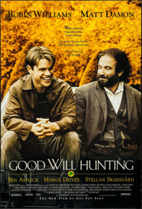 "Good Will Hunting & Others Lot (Miramax, 1997). One Sheets (3) (27"" X 41"") DS. Drama. ... (Total: 3 Items)"